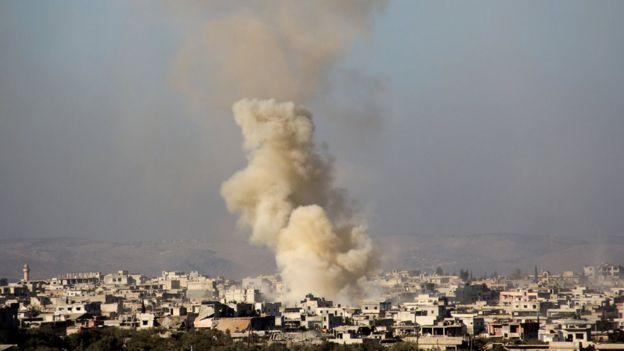Explosion in Foah - 6 December