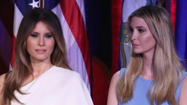 Melania e Ivanka Trump