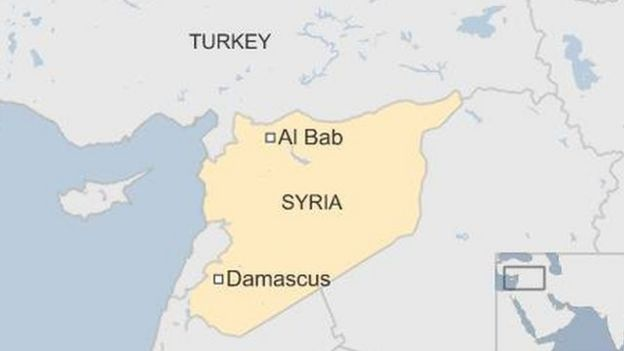 Map of Al-Bab