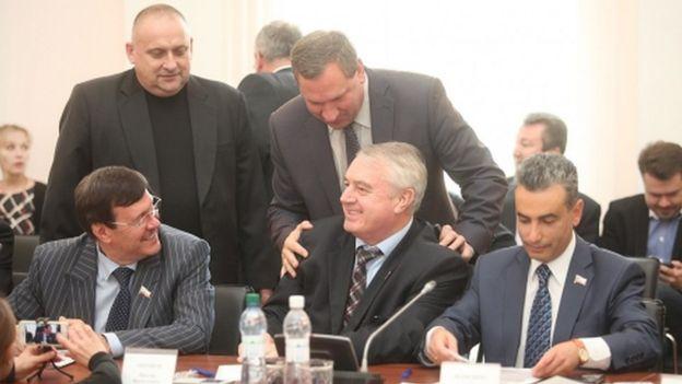 Каленский, Антонов, Шлосберг
