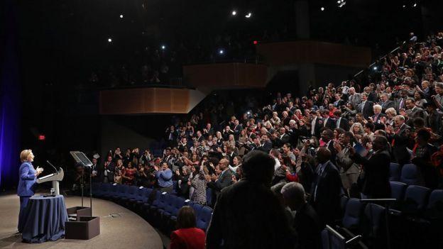 Clinton en Washington D.C.