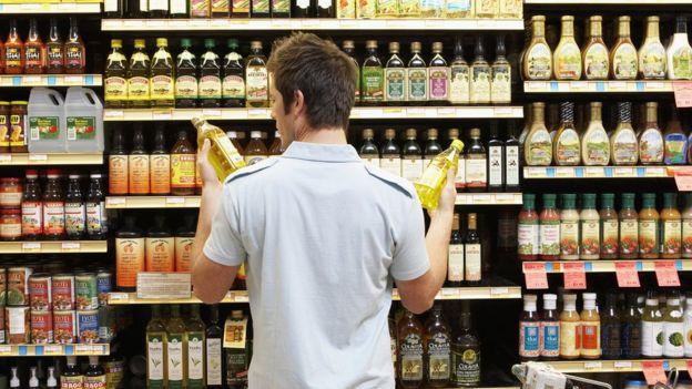 Aceite en el supermercado