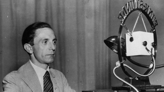 Геббельс був головним пропагандистом Третього Рейху
