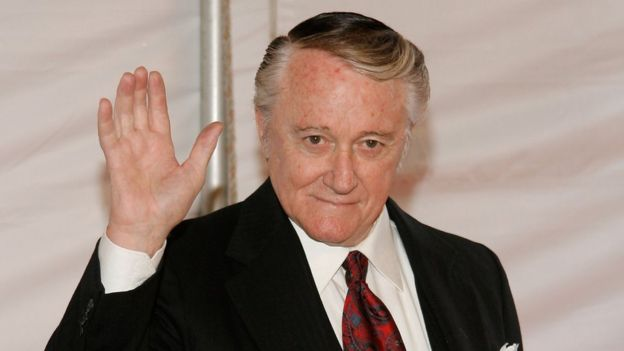 Robert Vaughn in 2007