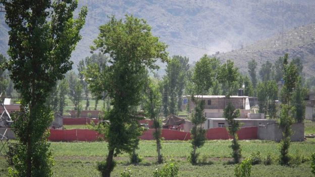Compound where Osama Bin Laden was killed in Abbottabad, Pakistan