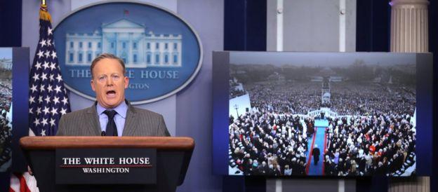 El secretario de Prensa de la Casa Blanca
