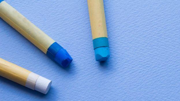 Tipos de azules