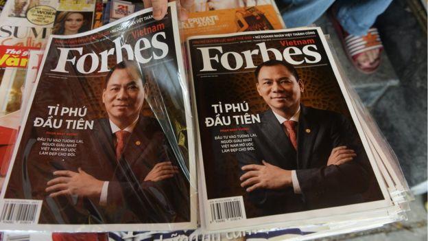 Vietnam billionaire Pham Nhat Vuong