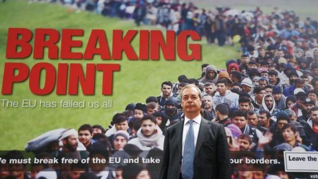 Póster de Nigel Farage