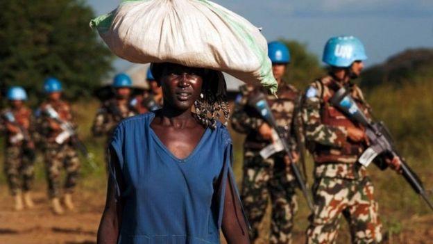 UN ina wanajeshi 13,000 wa kulinda amani Sudan Kusini