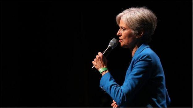 Bà Jill Stein ở đảng Xanh đang kêu gọi tái kiểm phiếu