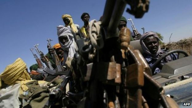 How did the war/conflict in Darfur start?