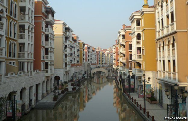 A replica Venice in China