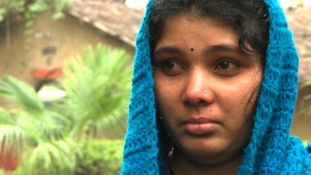 Sumila Munda who was rescued recently