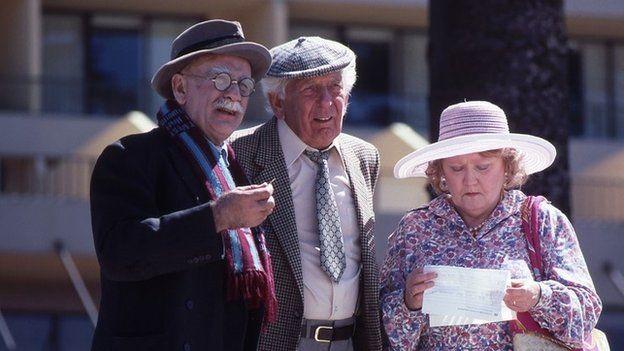 Warren Mitchell as Alf Garnett