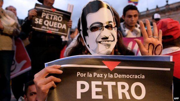 Bogota Mayor Gustavo Petro Bogota Mayor Gustavo Petro