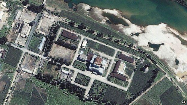 El Centro Nuclear de Yongbyon, al norte de Pyongyang.