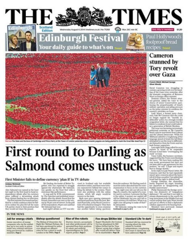 The front pages of Scotland's newspapers - BBC News