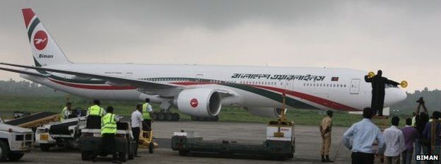 Biman aircraft (file picture)
