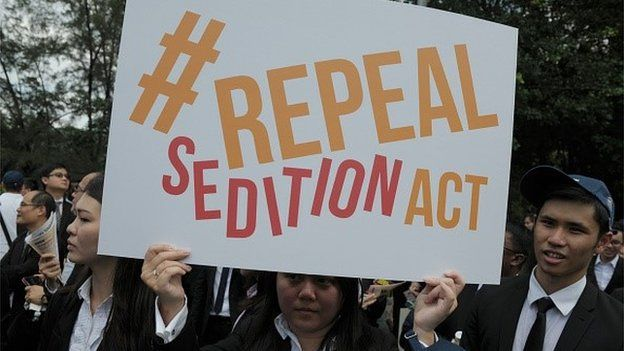Repeal India's sedition law