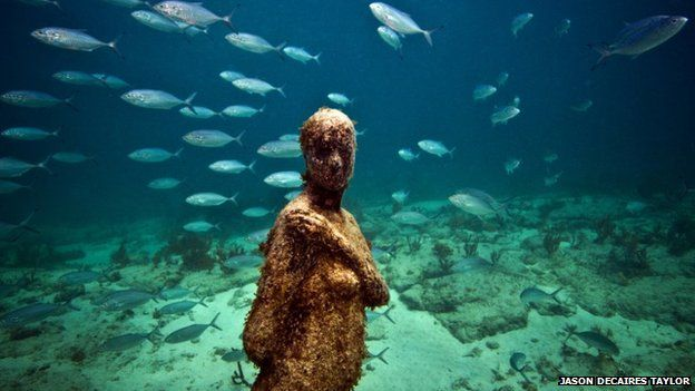 Spain canaries sign up to underwater museum bbc news for Spain underwater museum