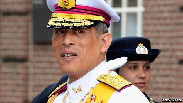 Thailand's Crown Prince Vajiralongkorn (30 April 2013)