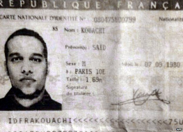 Charlie Hebdo attack suspects Said and Cherif Kouachi were 'loser ...