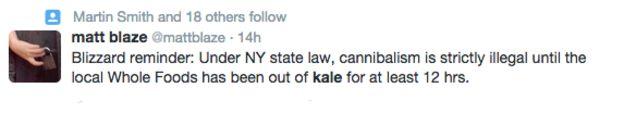 Kale Tweet