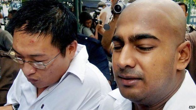 Myuran Sukumaran Dan Andrew Chan Andrew Chan And Myuran
