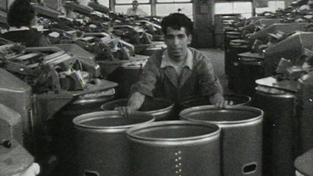 Bradford mill in 1960