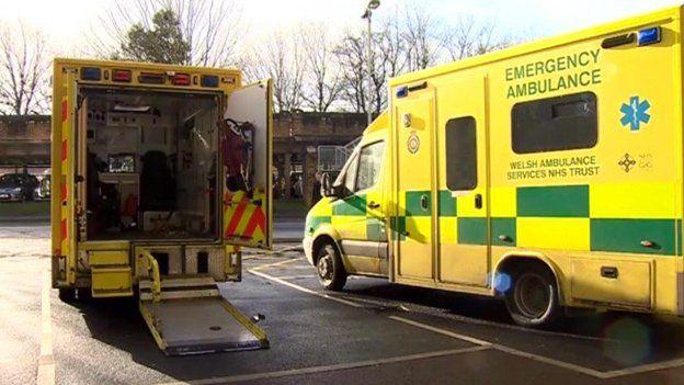 Welsh ambulances