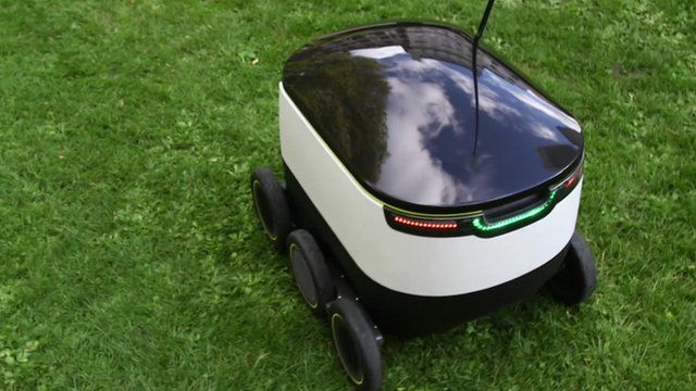 Starship - a delivery robot