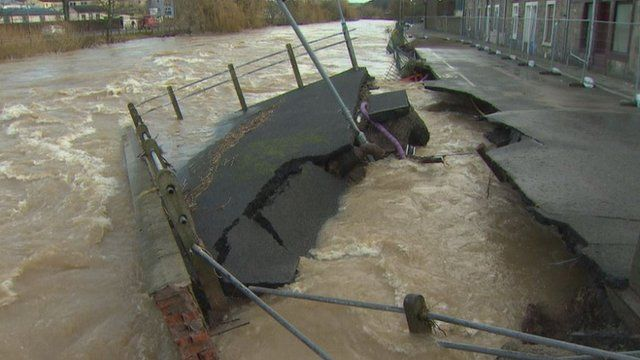 hawick homes and businesses count cost of floods