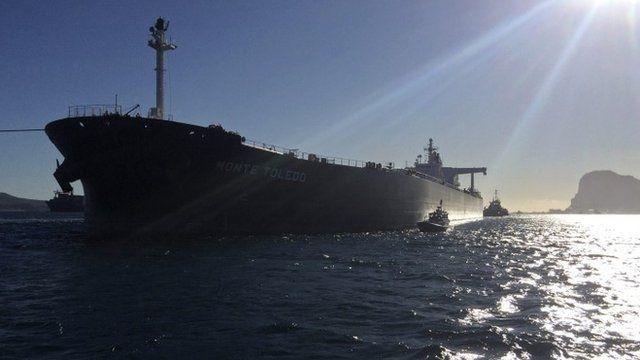 Iranian oil arrives in Spain
