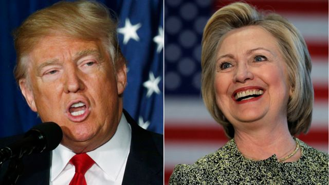 The campaign trail: BBC in depth on the US election  - cover