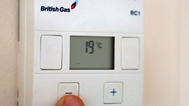 A British Gas thermostat
