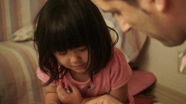 Refugee family in Japan