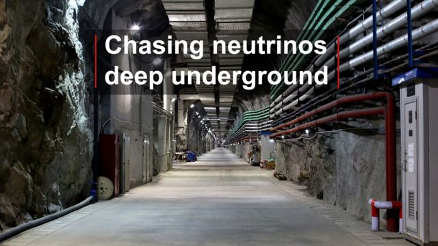 Science research centre deep underground - Daya Bay, China