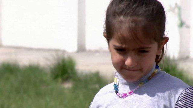 Iraqi child