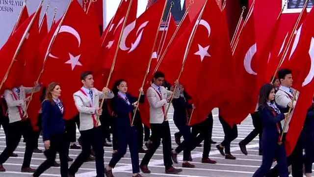Turkey National Day Parade