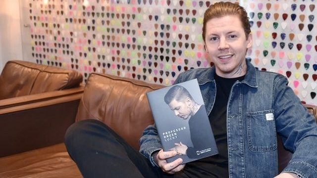 Rapper Stephen Manderson, better known as Professor Green