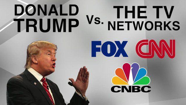 Image result for trump v the media