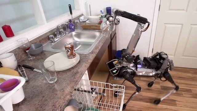 Kết quả hình ảnh cho SpotMini robot