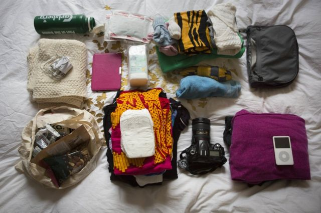 In pictures: Inside the maternity bags of expectant mothers
