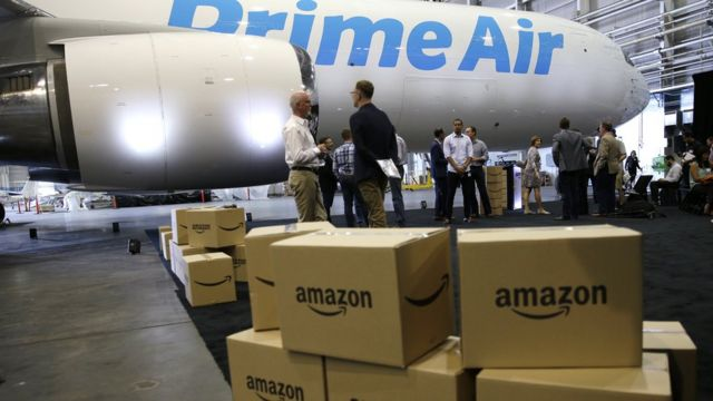 Amazon has been fined £65,000 for trying to fly dangerous goods