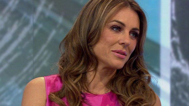 Elizabeth Hurley On Breast Cancer Awareness Campaign Bbc