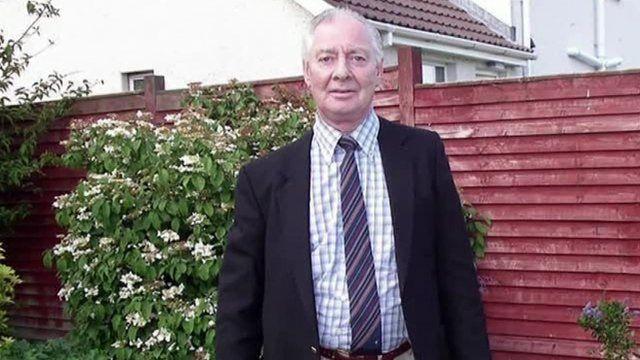 Eddie Girvan was found dead at his home in Greenisland on Monday