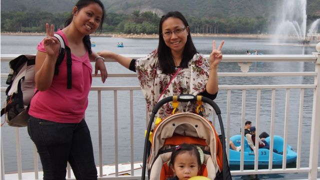 100 Women 2015: Hong Kong mum and her Philippine nanny