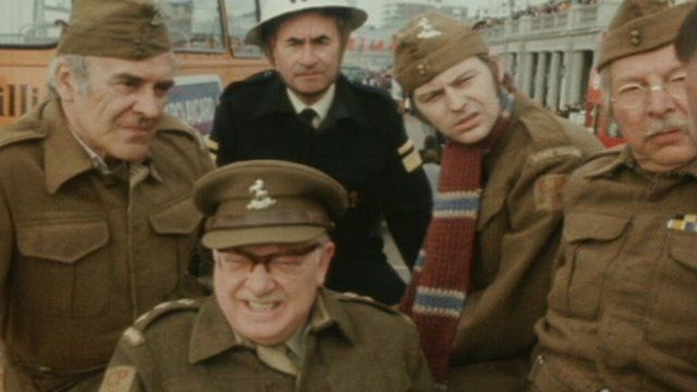Footage of original Dad's Army cast unearthed - BBC News