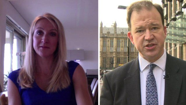 Paula Radcliffe and Jesse Norman MP